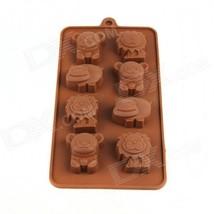 Small Animal Ice Cube Chocolate Mold - Coffee (Size M) - $10.78