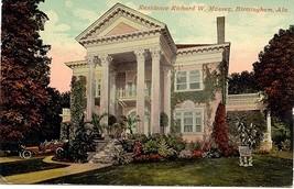 Richard Massey Birmingham Alabama Home Vintage Post Card - $4.00