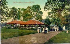 Pittencrieff Glen Tea Rooms Scotland vintage Post Card - $6.00