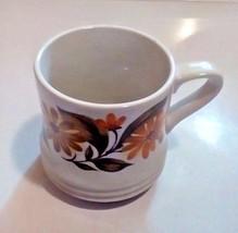 Capri Bake Serve'N Store Stoneware Soup Cup/Mug Floral Daisies Design  - £6.34 GBP