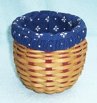 Longaberger Small Strawberry Basket 2005 - $26.41