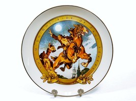 """""""Midnight Ride of Paul Revere"""", Edgerton China Collector Plate, 1976 , #... - $14.65"""