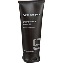Every Man Jack: Fragrance Free Shaving Cream, 6.7 Ounces image 1