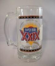SUPER BOWL XXIX 1995 JOE ROBBIE STADIUM GLASS MUG - BRAND NEW with STICKER! - £4.21 GBP