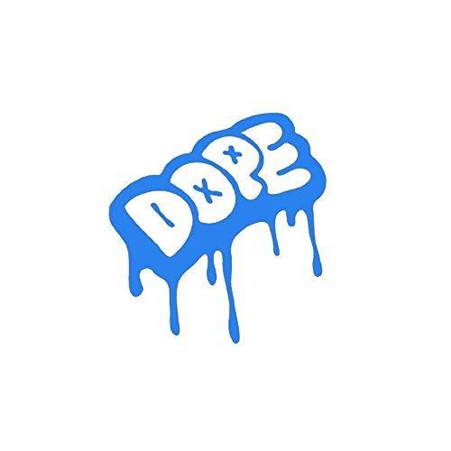 "Primary image for DOPE Cool Urban Graffiti Drip Style Dope Vinyl Decal - size: 5"", color: COOL BLU"