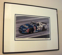 Tim Berry and Jeff Greene Ltd Ed.  NASCAR #32 Print   - $159.99