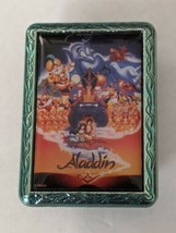 Aladdin Movie Poster Mystery Box Disney Store Pin Trading - $14.84