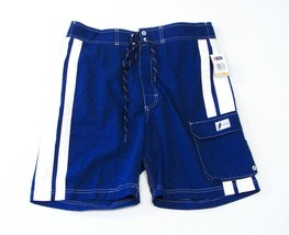 Chaps Mens Cargo Board Shorts Swim Trunks Small S NWT - $25.98