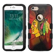 for Apple iPhone 8 Impact Armor Rugged Hard Hybrid Case Chicago Blackhaw... - $18.65