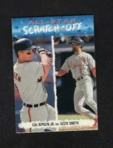 1993 Upper Deck All Star Scratch Off Cal Ripken Jr. Ozzie Smith #AS6 - $1.97