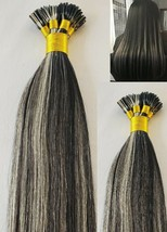 """18"""",22"""" 100grs,100s,I Tip (Stick Tip) Fusion Remy Human Hair Extensions #1B/613 - $98.99+"""