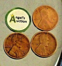Lincoln Wheat Penny 1917 P, 1917 D and 1917 S AA20-CNP2170 Antique image 2