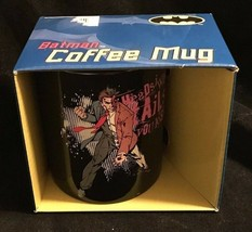 Batman 355ml Caffè Tazza Due Viso Teste i Win Code You Loose 2 Viso Dc N... - $16.58