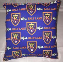 Real Salt Lake MLS Pillow Reals Pillows Real Pillows Handmade in USA. - $9.99