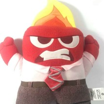 """Disney Pixar Inside Out ANGER 13"""" Plush ANGRY RED w/ Flame Head Pillow S... - $21.77"""