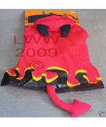 Red Devil X-Small Dog Halloween Costume~ NEW - $7.99