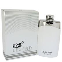 Mont Blanc Montblanc Legend Spirit Cologne 6.7 Oz Eau De Toilette Spray image 1