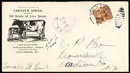 Chester Smith Live Stock Registered Mail Advertising Cover - Stuart Katz - $75.00
