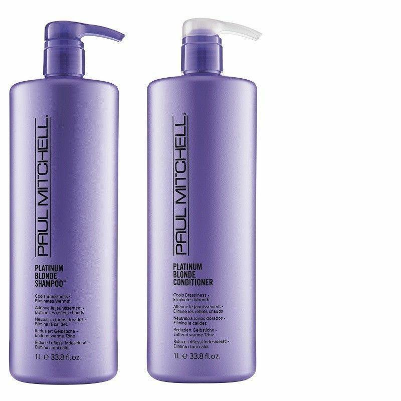 John Paul Mitchell Platin Blond Shampoo Haarspülung 1000ml Liter