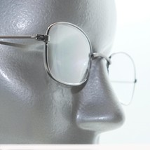 Small Oval Lightweight Unisex Reading Glasses Shiny Gray Metal Frame +1.... - $22.00