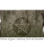 FIERY WALL of PROTECTION Spell .Pics of Casting Incl. Powerful Hoodoo Ma... - $22.60