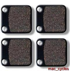 Yamaha Disc Brake Pads YFM350X Warrior 1989-2001 Front (2 sets)