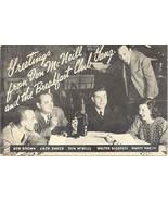 The Don Mc Neill Breakfast Club Vintage Post Card - £5.07 GBP