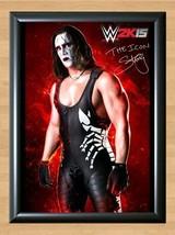 Sting Steve Borden Crow WWE Signed Autographed A4 Print Photo Poster belt diva - $9.95