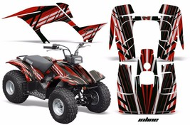 ATV Graphics Kit Quad Sticker Decal Wrap For Yamaha Breeze 125 89-04 INLINE RED - $169.95