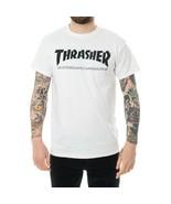 T-SHIRT UOMO THRASHER SKATE MAG T-SHIRT 110101WH  CREWNECK TEE MAN TRIBE... - $26.72