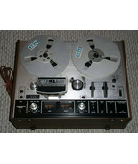 Akai 4000DS Mk II Reel To Reel Tape Deck Vintage Silver Panel - $399.99