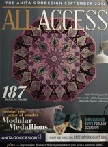 September 2017 All Access Embroidery machine Design Cd (CD ONLY) - $29.69