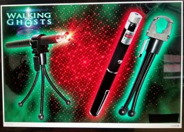 GHOST HUNTING EQUIPMENT RED LASER GRID PEN, HOLDER + TRIPOD KIT 2020 FAS... - $13.09
