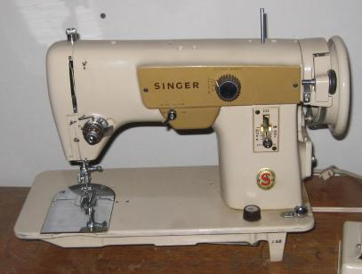 Singer 223 Stitch Length Lever & Cover Plate w/Screws Used Repair Part