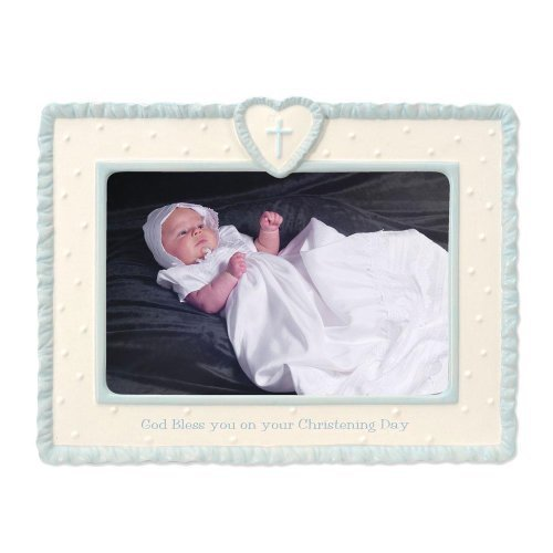 "Primary image for Enesco This Is The Day Christening Collection, ""God Bless You On Your Christenin"