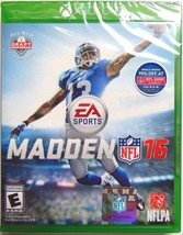 Madden NFL 16 (Microsoft Xbox One, 2015) @LOOK@ NEW - $11.99