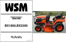 Kubota BX1800 BX2200 Compact Tractor / Mower Service Repair Workshop Man... - $12.99