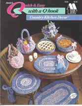 Annie's Quick & Easy Q Hook Country Kitchen Decor~OOP - $8.99