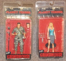 2007 Planet Terror Lot Of 2 Action Figures New In The Packages - $49.99