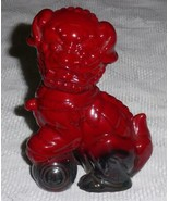 """""""Dog Of Fo"""" Royal Doulton Red & Black Flambe Figurine - RARE COLLECTIBLE! - $203.69"""