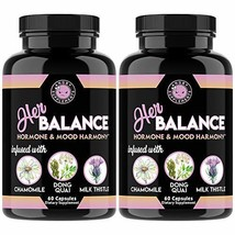 Her Balance, Women's Hormone and Mood Harmony, PMS Relief, Menopause Sup... - $51.70