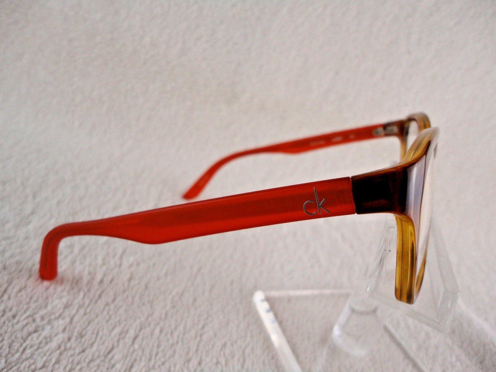 Calvin Klein CK 5827 Platinum (221) Havana/Orange 52 X 15 135 mm Eyeglass Frame