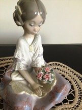 Lladro ~ Serene Valencia # 5867   ~ Retired ~ RARE ~ Mint condition. - $425.00