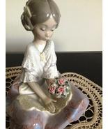 Lladro ~ Serene Valencia # 5867   ~ Retired ~ RARE ~ Mint condition. - $425.00