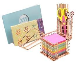 Superbpag Desk Supplies Organizer Kit- Letter Sorter, Pen Holder and Sti... - $21.64