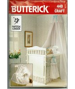 Butterick Sewing Pattern 440 Nettle Creek Design Baby Room Decor Coverle... - $14.50