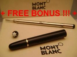 Replacement spare Parts Pen Barrel for Montblanc 163 Black & Gold + Bonu... - $77.50