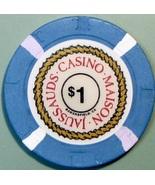 $1 Casino Chip. Casino Maison Jaussauds, Bakersfield, CA. V81. - $4.29