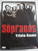 The Sopranos Trivia Game New In Box 2004 Cardinal Games - $24.99