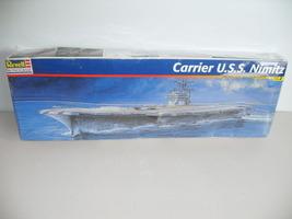1998 Revell Monogram Carrier U.S.S. Nimitz Model Kit 1:800 Scale New In ... - $39.99